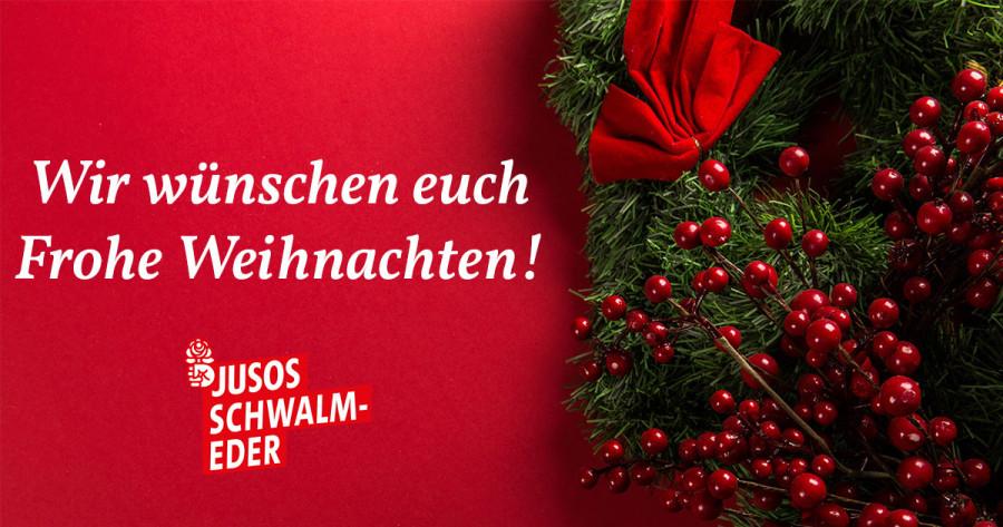 Wir Wünschen Euch Frohe Und Besinnliche Weihnachten.Frohe Weihnachten Jusos Schwalm Eder